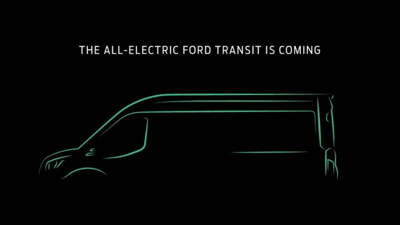 Ford Transit tendrá una versión eléctrica
