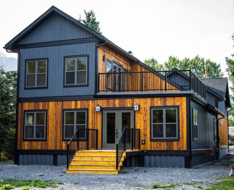 Nunca dirías que esta casa está hecha con contenedores marítimos