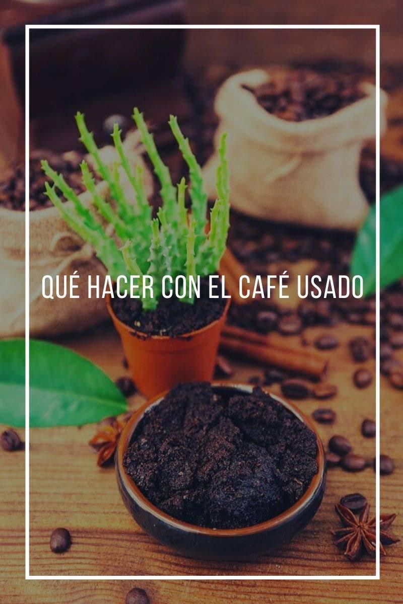 Qué Hacer Con El Café Usado
