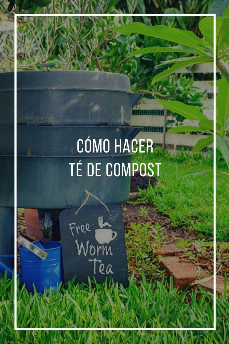 Cómo hacer Té de compost