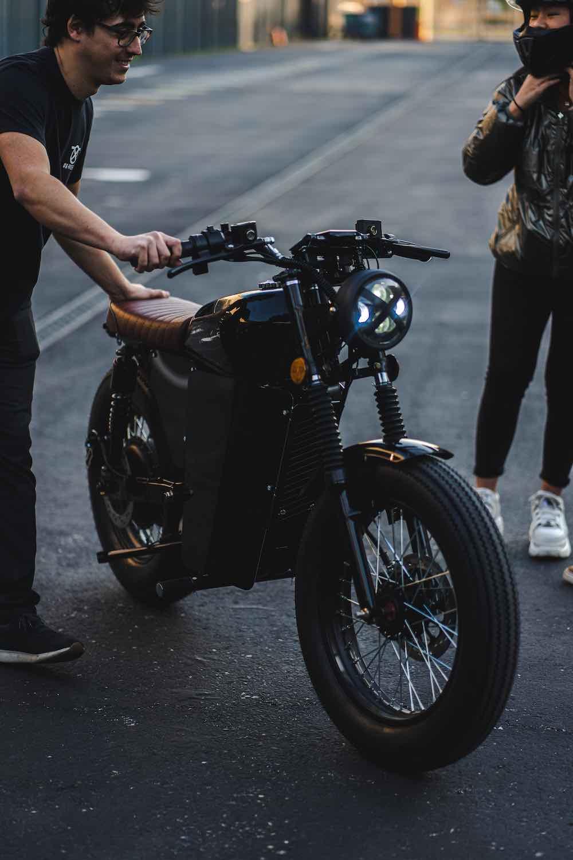 OX Riders, motocicletas eléctricas, inteligentes y retrofuturistas diseñadas en España