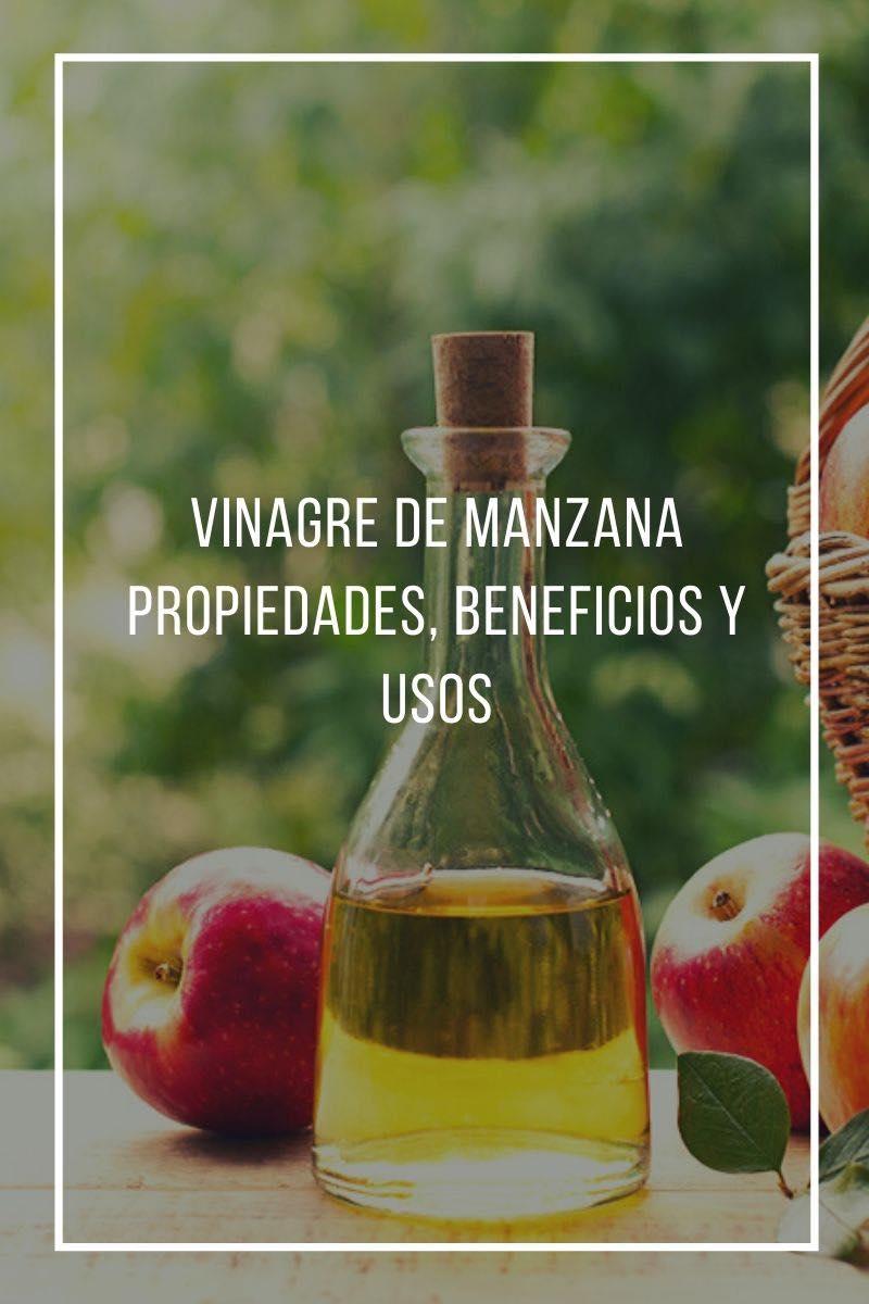 Propiedades, beneficios y usos del vinagre de manzana