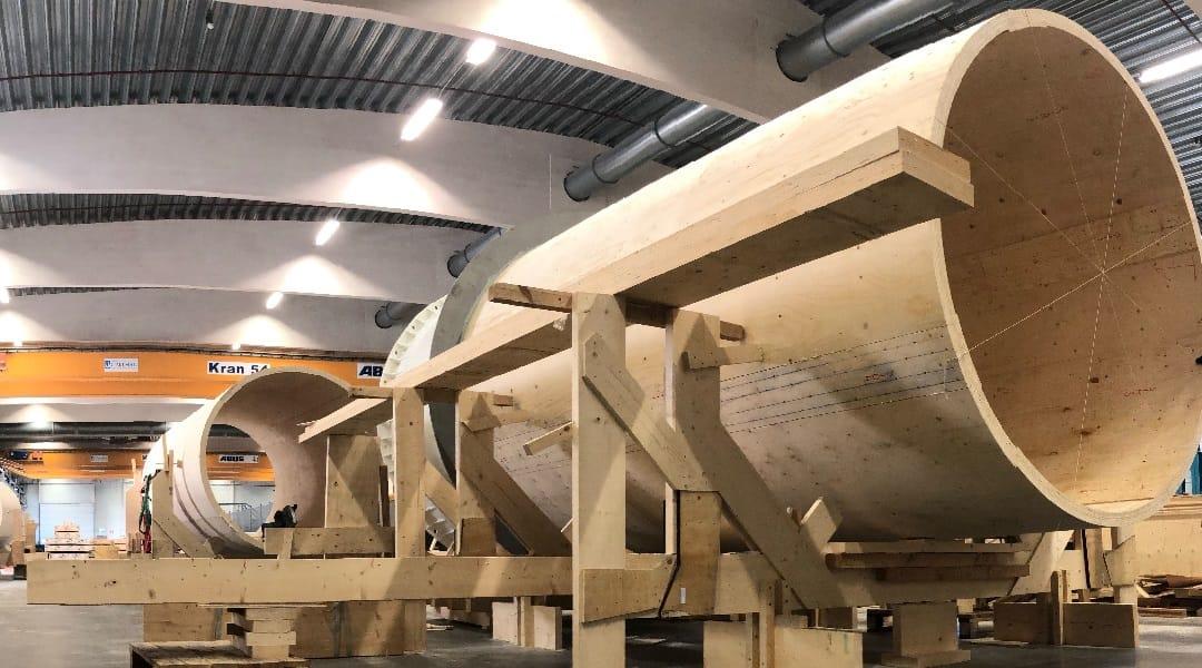 Primera torre eólica de madera tan fuerte como el acero y más barata
