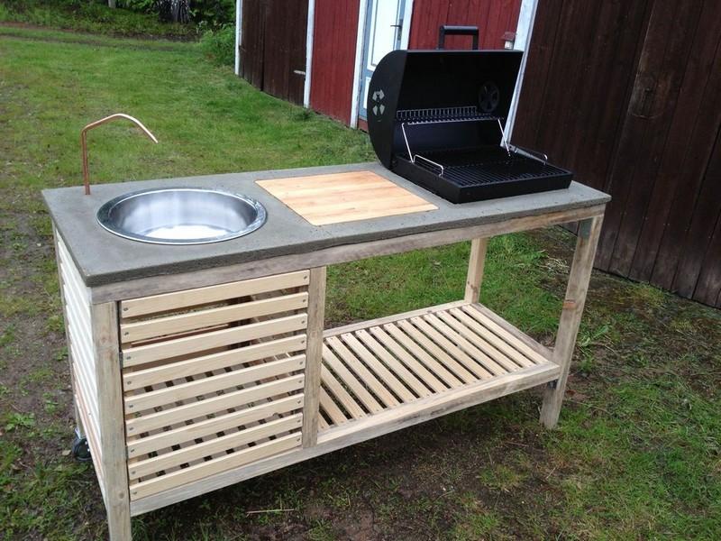 Cómo hacer tu propia cocina portátil al aire libre