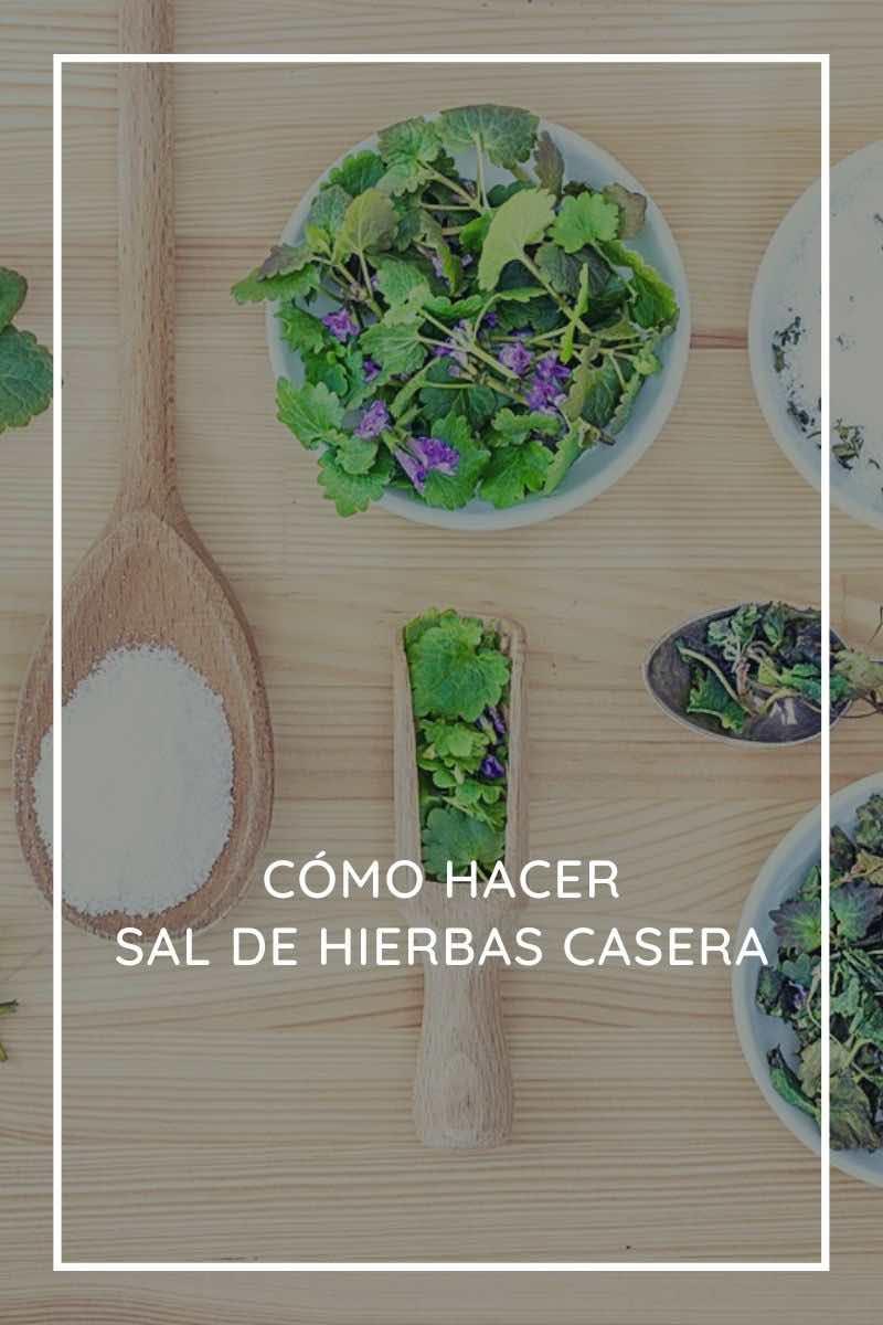 Cómo hacer sal de hierbas casera