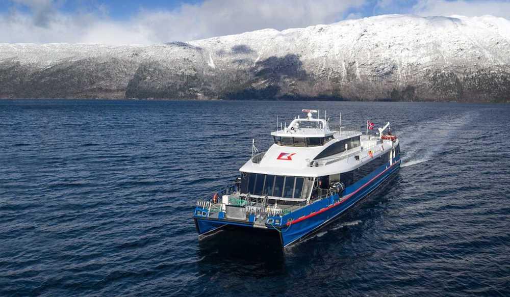 el ferry eléctrico más rápido del mundo