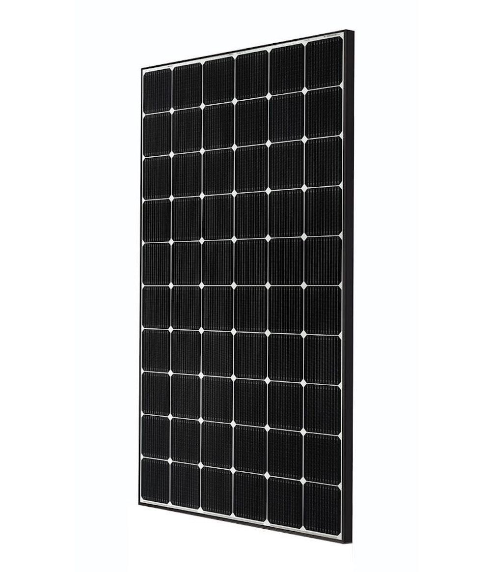 Nueva generación de paneles solares Neón 2 de LG, mayor rendimiento en menos espacio