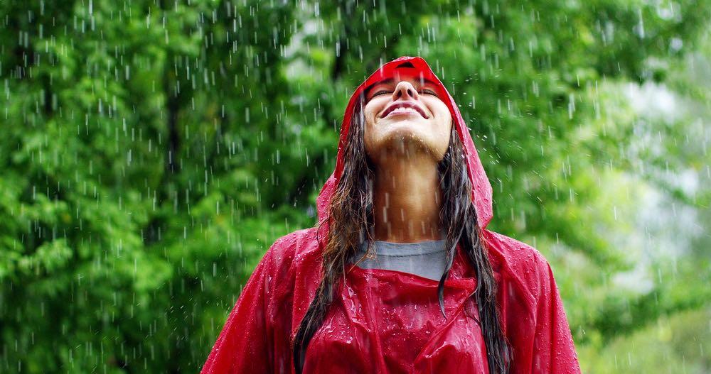 Razon olor único de la lluvia