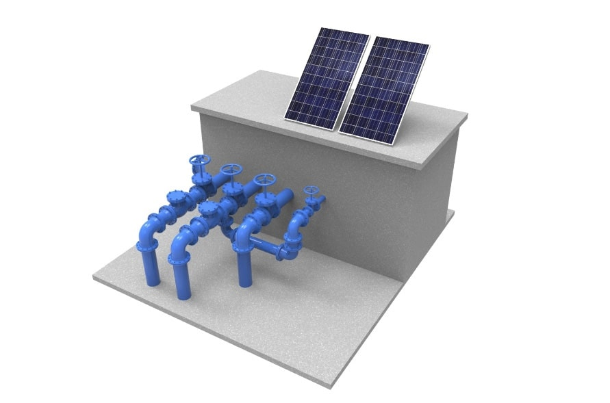 rentabilidad instalación fotovoltaica vs turbina hidráulica