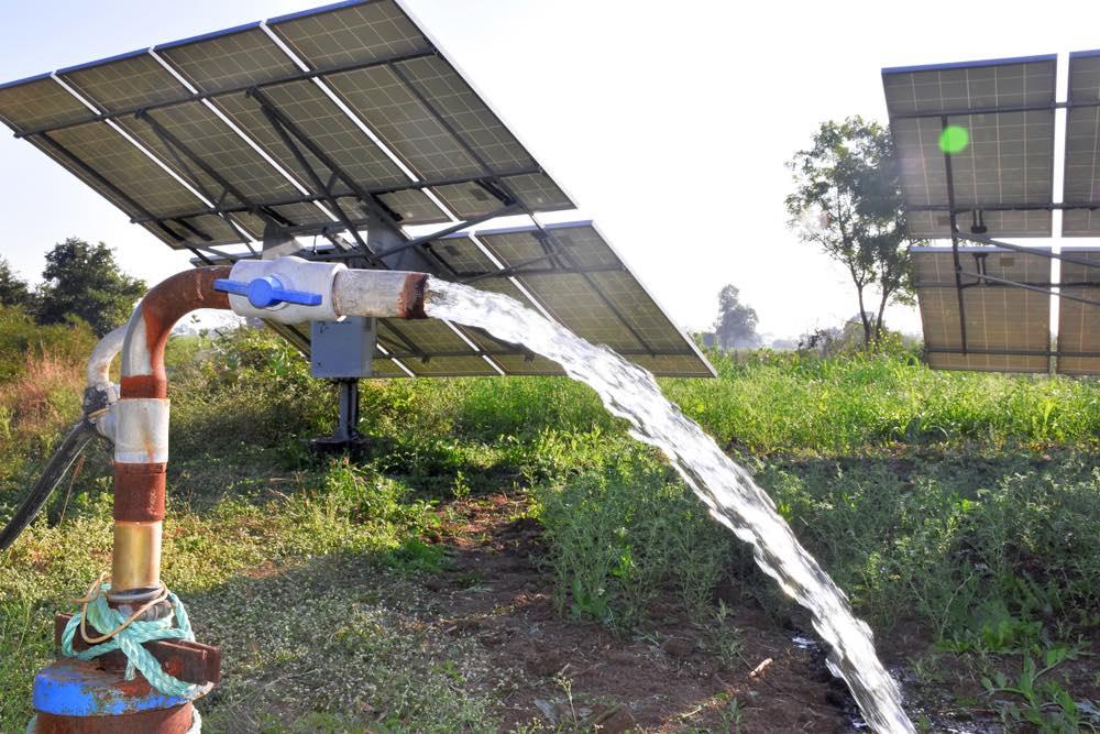 Energía solar para el riego: soluciones y tipos