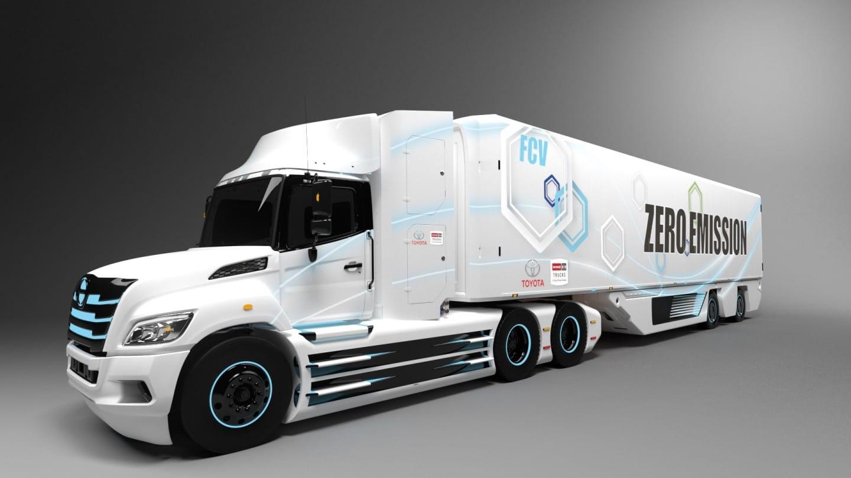 Nuevo camión eléctrico de hidrógeno de Clase 8 fruto de la unión de Hino y Toyota