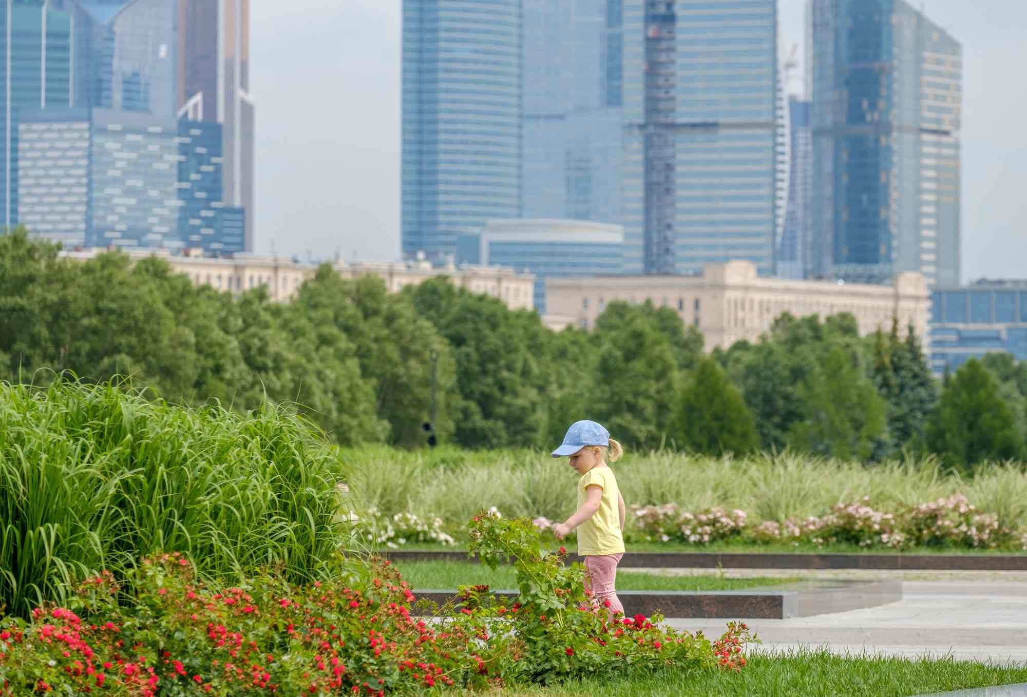 Nina-parque-urbano