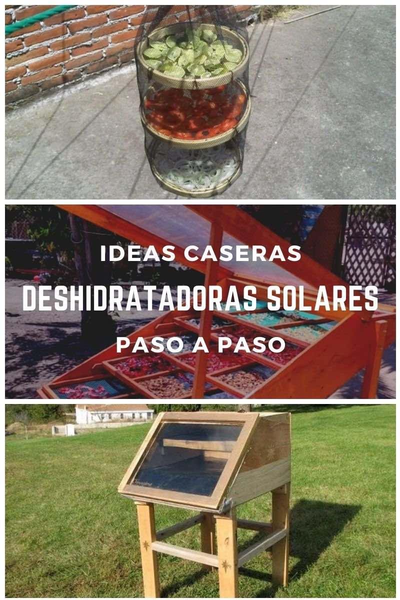 Ideas domésticas para hacer deshidratadoras solares
