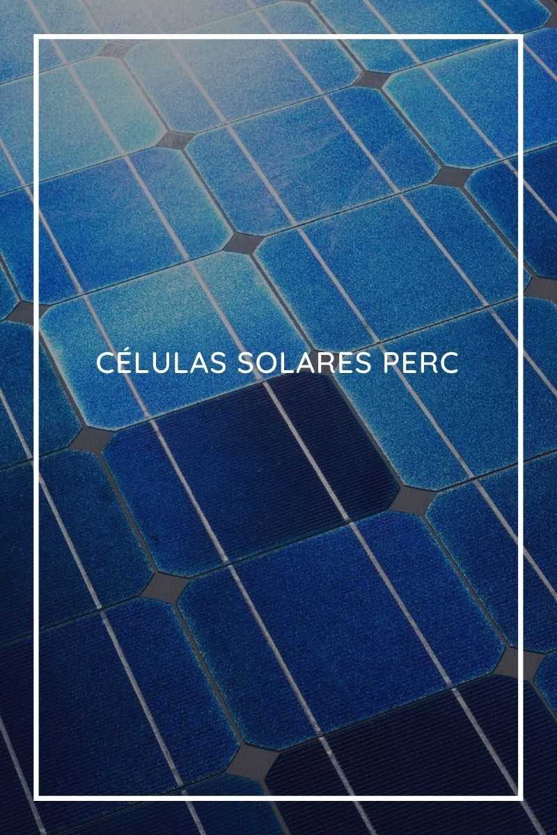 Qué son las células solares PERC