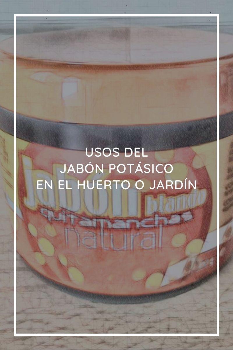 Usos del jabón potásico en el huerto o jardín