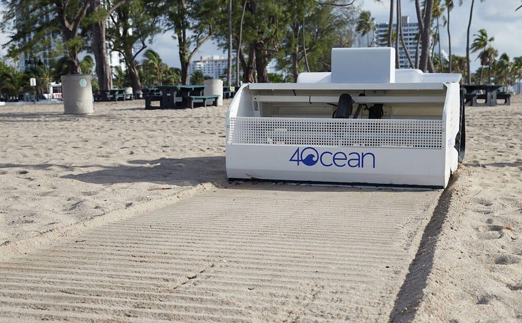 BeBot, el robot solar diseñado para mantener limpias las playas