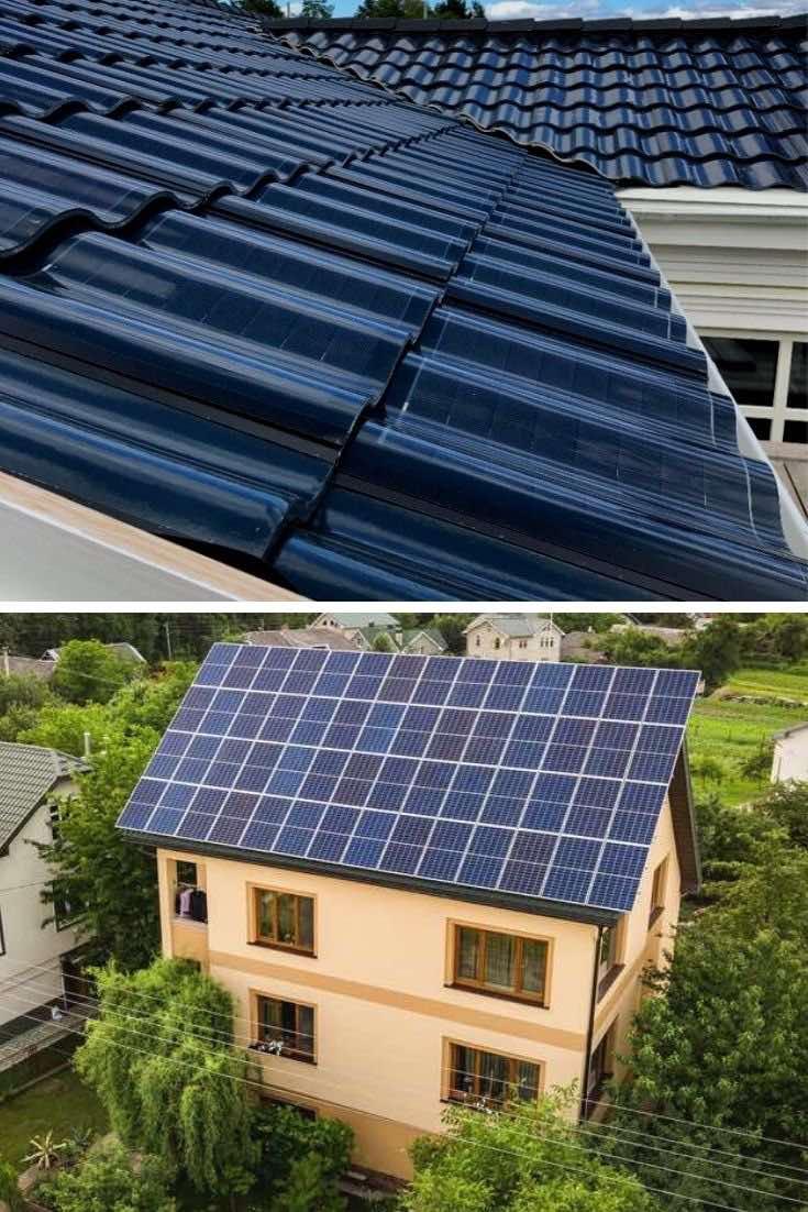 Tejas solares vs paneles solares, ¿cual elegir?