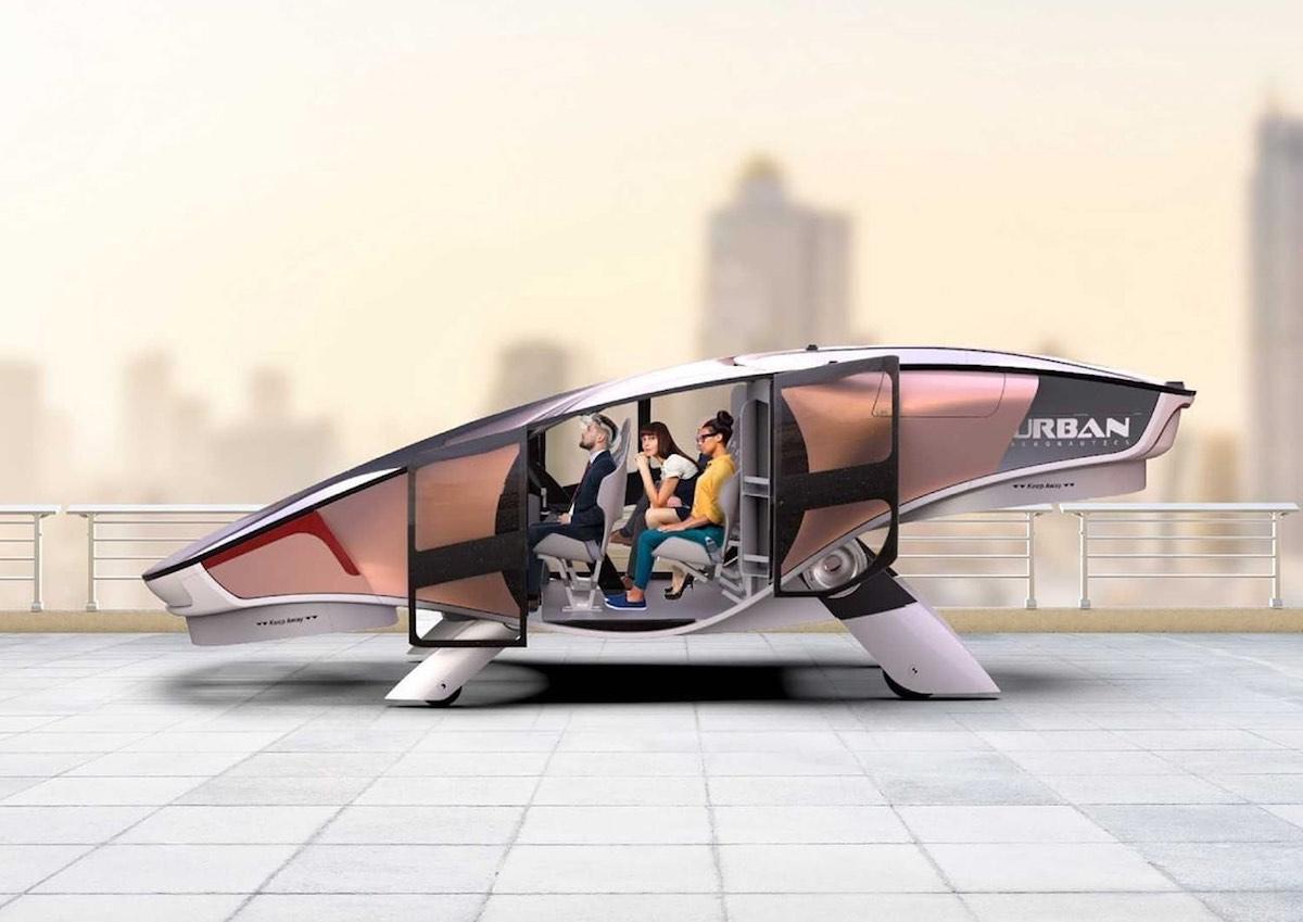 El primer avión eVTOL compacto y sin alas del mundo es casi una realidad