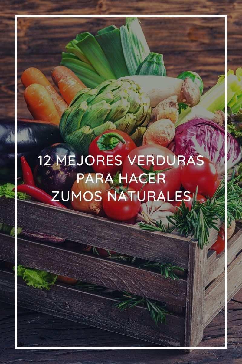 mejores verduras para hacer zumos naturales