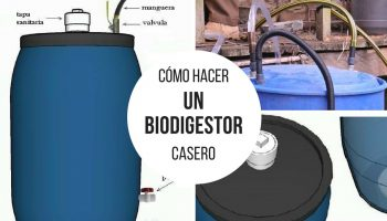 Cómo hacer un biodigestor casero