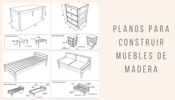 Planos para construir muebles de madera