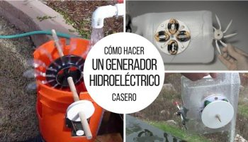 Cómo hacer un generador hidroeléctrico casero